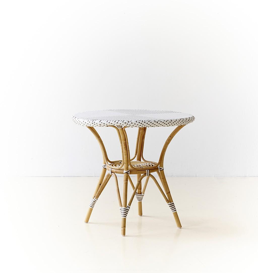 Table caf ronde danielle diam tre 80 cm for Table ronde design diametre 80 cm