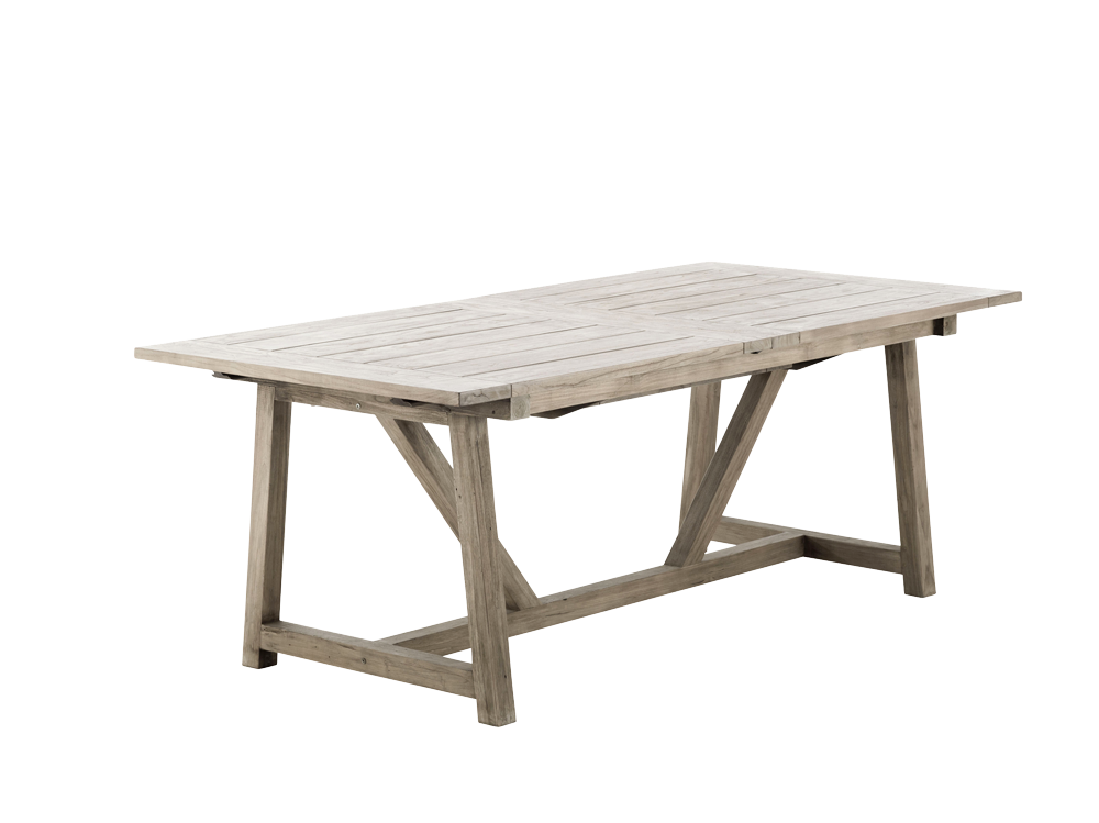 Table extensible george 100x 200 280 cm for Table extensible 280 cm