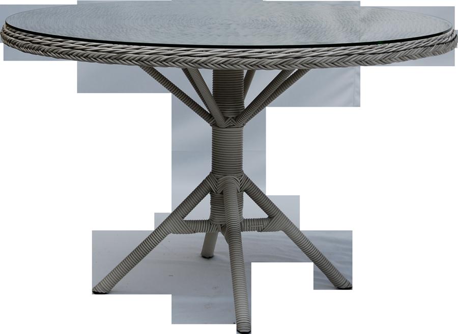 Table repas grace ronde diam tre 120 cm for Table de repas ronde