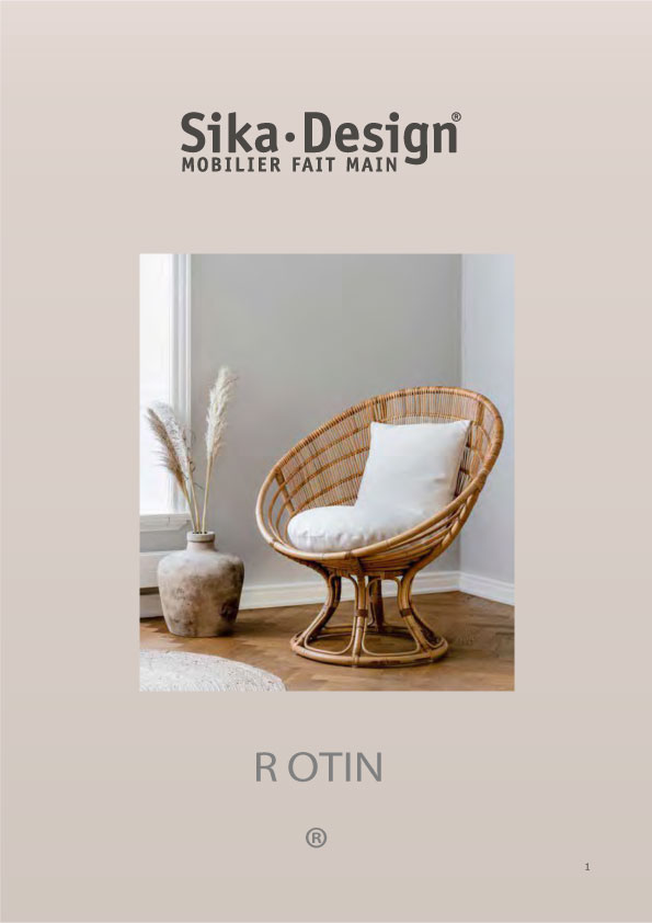 Catalogue Rattan Sika-Design