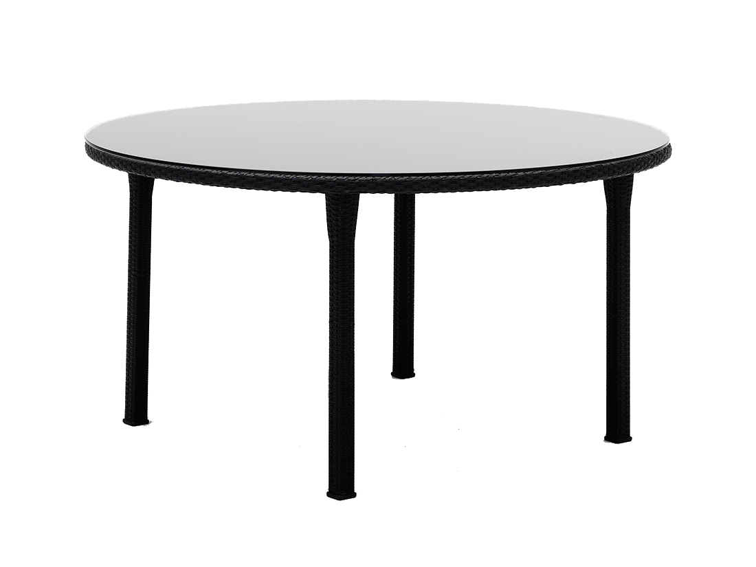 Table rond tresse diam 150 cm for Table 150 cm