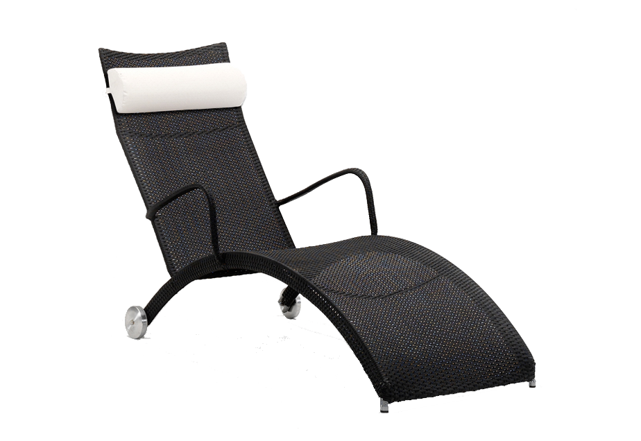bain de soleil noir helena sans tetiere. Black Bedroom Furniture Sets. Home Design Ideas
