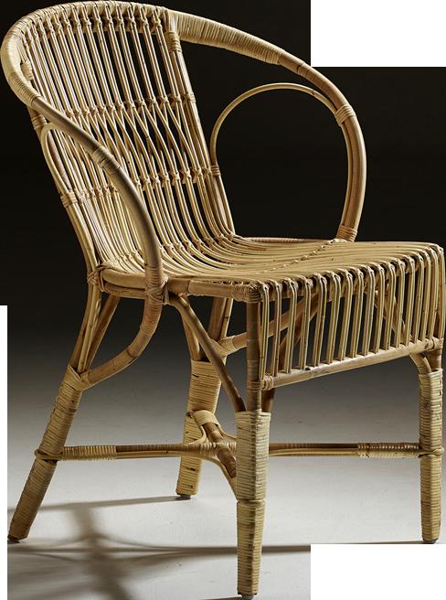 fauteuil wengler en rotin naturel. Black Bedroom Furniture Sets. Home Design Ideas