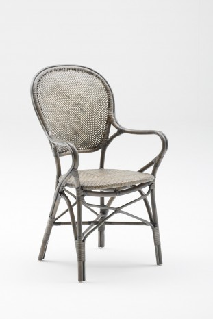 Fauteuil repas Rossini-Taupe