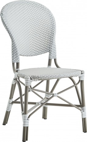 Chaise repas Isabelle alu