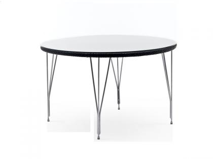 Table rond tresse helios diam 120 cm