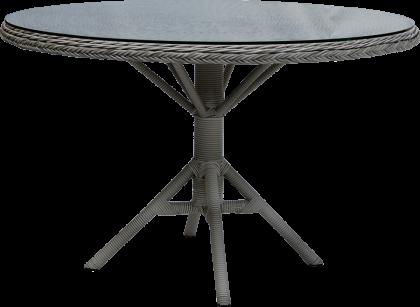 Table repas Grace ronde diamètre 120 cm