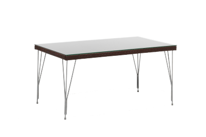 Table rectangulaire tresse 90 x 150 cm