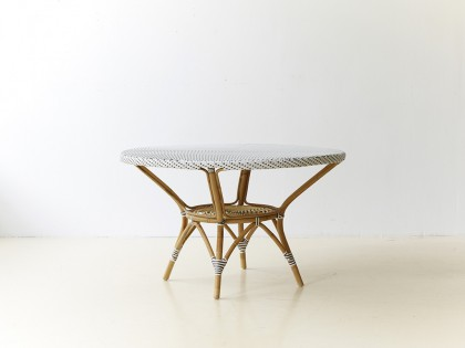 Table repas ronde Danielle diamètre 120 cm (2 finitions possibles)
