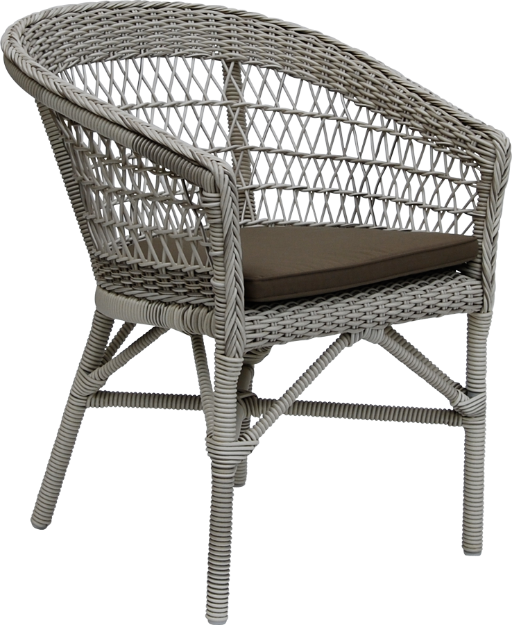 chaise repas emma coussin blanc inclus. Black Bedroom Furniture Sets. Home Design Ideas