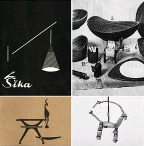 Sika commença par produire des paniers en osier et des article de déco en 1940
