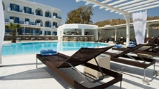 Bain de soleil Mars, Hotel Argo - Mykonos, Grèce